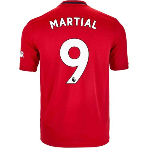 2019/20 Kids adidas Anthony Martial Manchester United Home Jersey