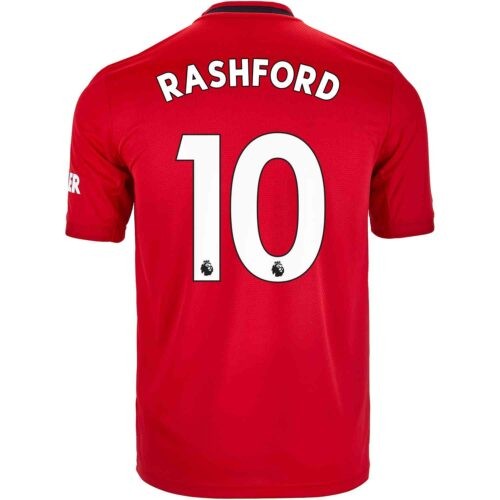 2019/20 Kids adidas Marcus Rashford Manchester United Home Jersey
