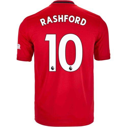 2019/20 Kids adidas Marcus Rashford Manchester United Home Jersey
