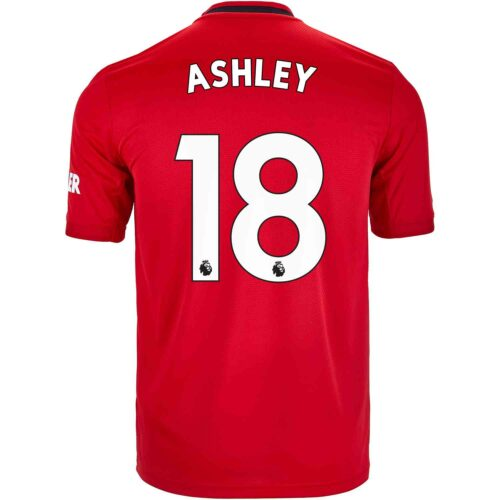 2019/20 Kids adidas Ashley Young Manchester United Home Jersey