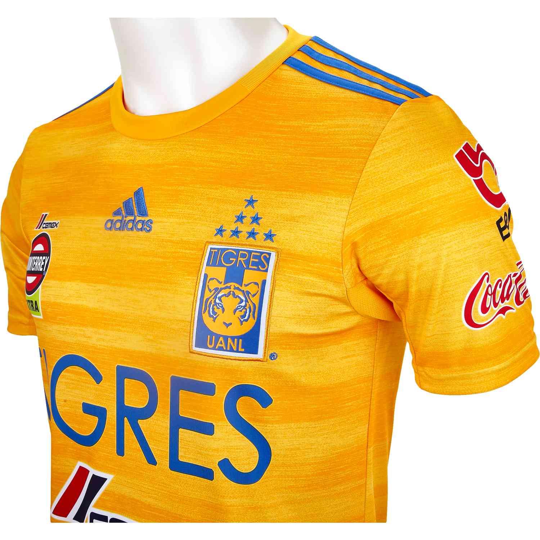 adidas Tigres Home Jersey - 2019/20 - SoccerPro