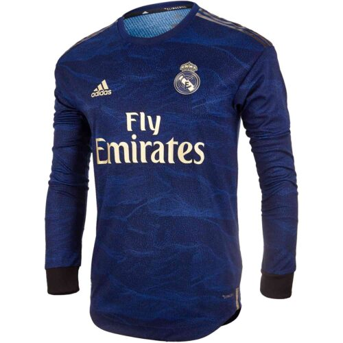 2019/20 adidas Brahim Diaz Real Madrid Away L/S Authentic Jersey