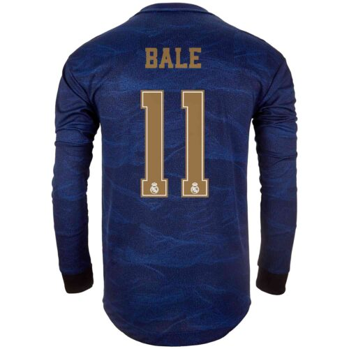 2019/20 adidas Gareth Bale Real Madrid Away L/S Authentic Jersey