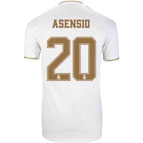 2019/20 adidas Marco Asensio Real Madrid Home Jersey