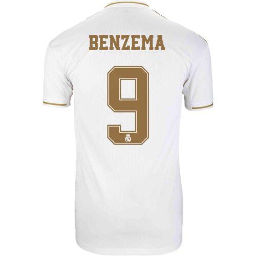2019/20 adidas Karim Benzema Real Madrid Home Jersey