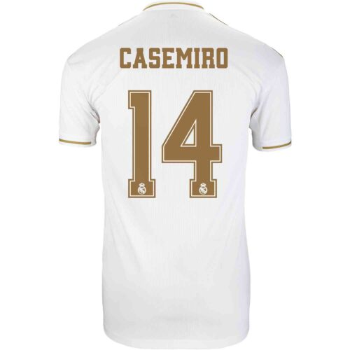2019/20 adidas Casemiro Real Madrid Home Jersey