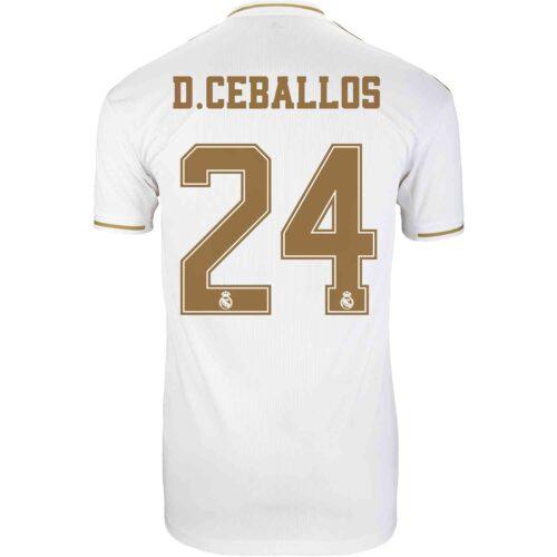 2019/20 adidas Dani Ceballos Real Madrid Home Jersey