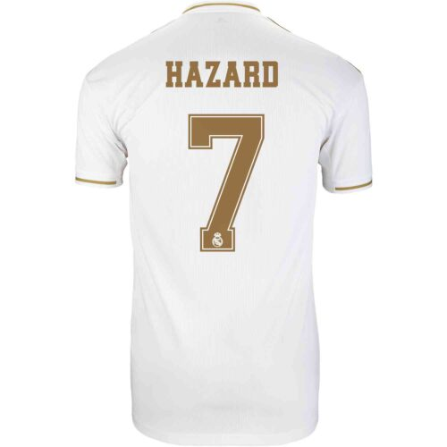 2019/20 adidas Eden Hazard Real Madrid Home Jersey
