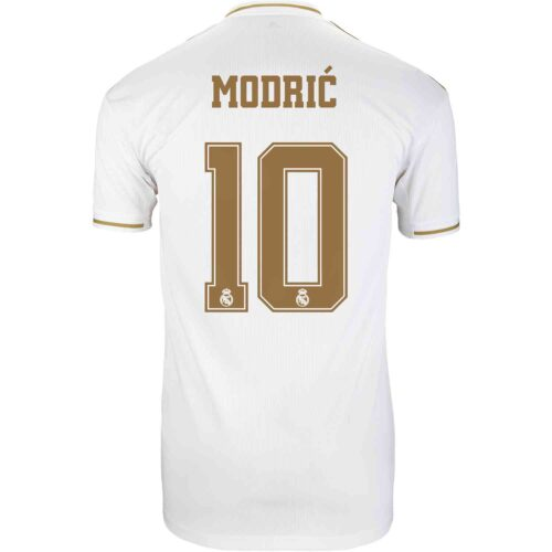 2019/20 adidas Luka Modric Real Madrid Home Jersey