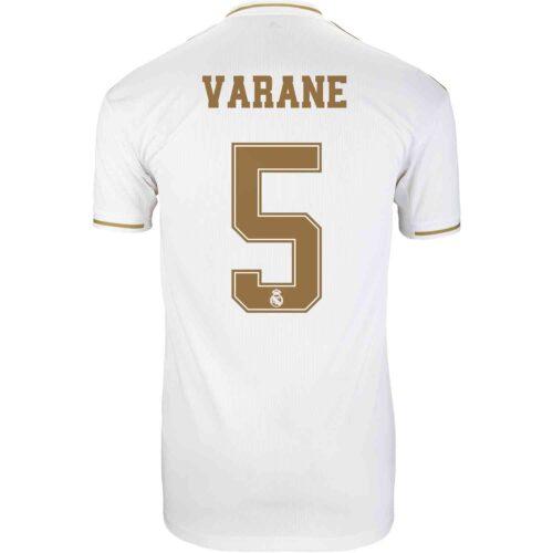 2019/20 adidas Raphael Varane Real Madrid Home Jersey