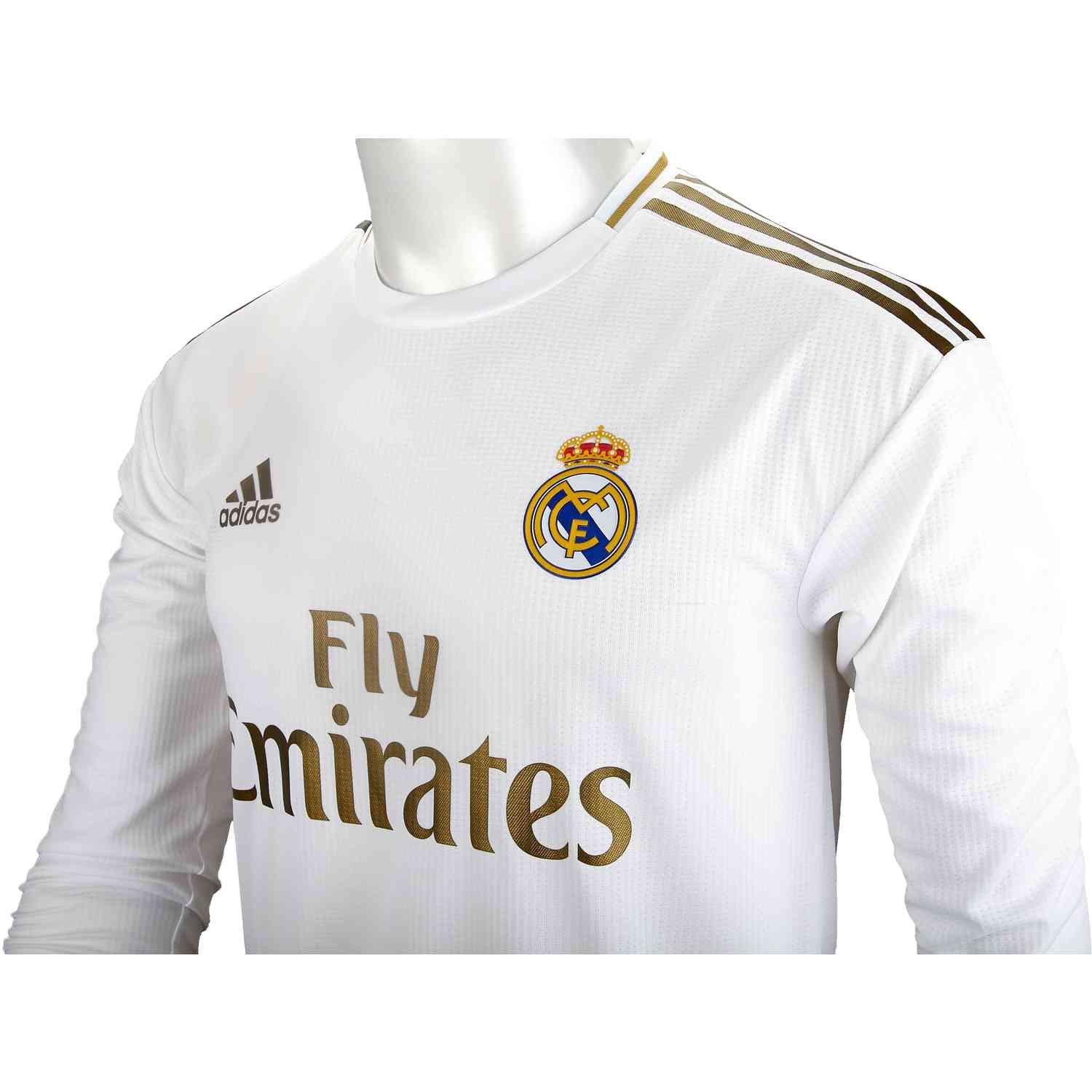 best website f0e51 905e6 2019/20 adidas Luka Modric Real Madrid Home L/S Authentic ...