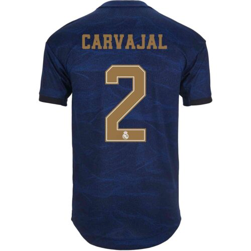 2019/20 adidas Dani Carvajal Real Madrid Away Authentic Jersey