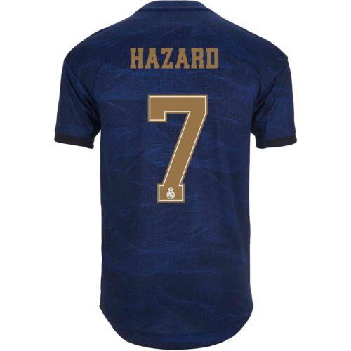 2019/20 adidas Eden Hazard Real Madrid Away Authentic Jersey