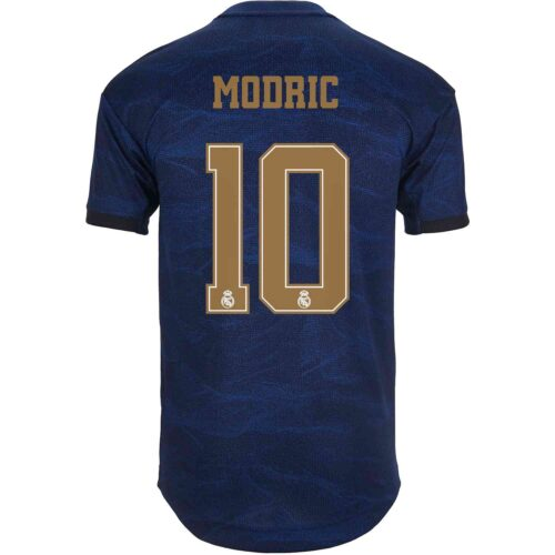 2019/20 adidas Luka Modric Real Madrid Away Authentic Jersey