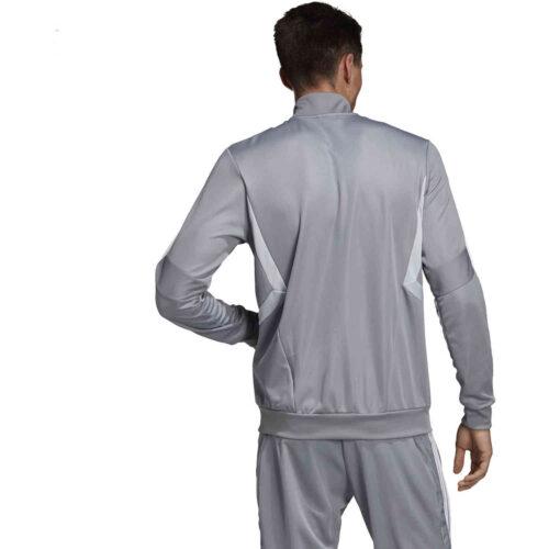 adidas Tiro 19 Training Jacket – Grey/Clear Onix/White
