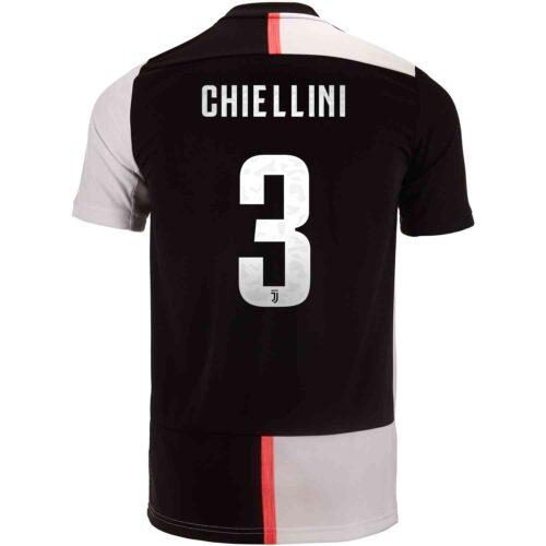 2019/20 Kids adidas Giorgio Chiellini Juventus Home Jersey