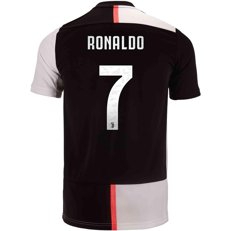 size 40 1c18f 207fd 2019/20 Kids adidas Cristiano Ronaldo Juventus Home Jersey ...