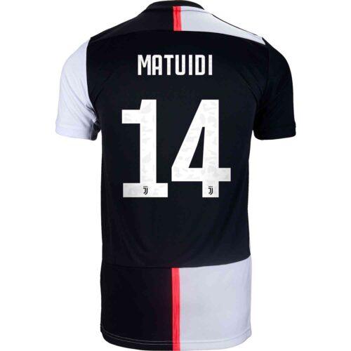 2019/20 adidas Blaise Matuidi Juventus Home Jersey