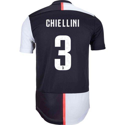 2019/20 adidas Giorgio Chiellini Juventus Home Authentic Jersey