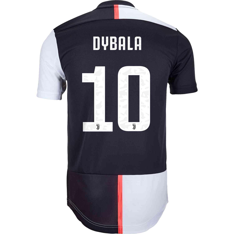 2019/20 adidas Paulo Dybala Juventus Home Authentic Jersey - SoccerPro