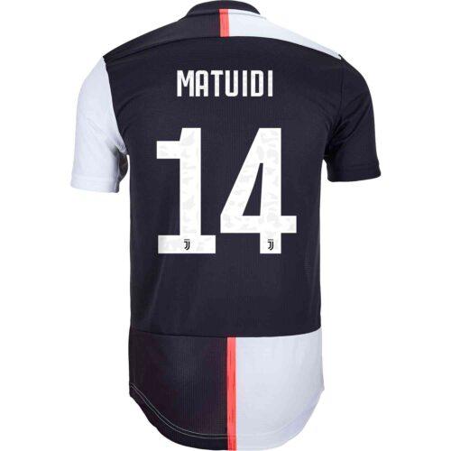 2019/20 adidas Blaise Matuidi Juventus Home Authentic Jersey