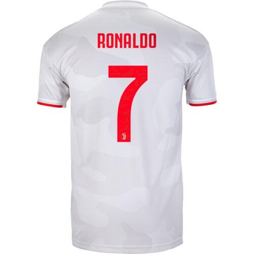 2019/20 Kids adidas Cristiano Ronaldo Juventus Away Jersey