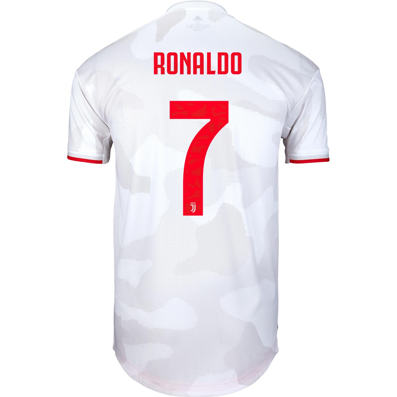 2019/20 adidas Cristiano Ronaldo Juventus Away Authentic Jersey ...