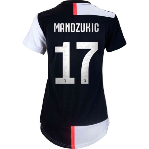 2019/20 Womens adidas Mario Mandzukic Juventus Home Jersey