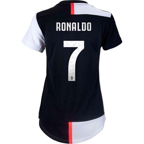 2019/20 Womens adidas Cristiano Ronaldo Juventus Home Jersey