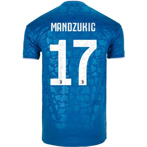 2019/20 adidas Mario Mandzukic Juventus 3rd Jersey