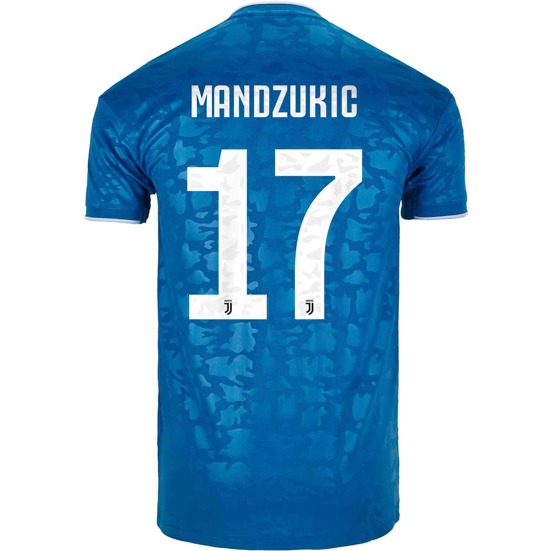 2019/20 adidas Mario Mandzukic Juventus 3rd Jersey - SoccerPro
