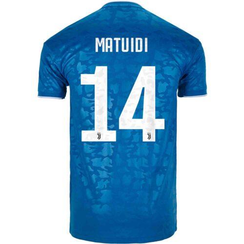 2019/20 adidas Blaise Matuidi Juventus 3rd Jersey