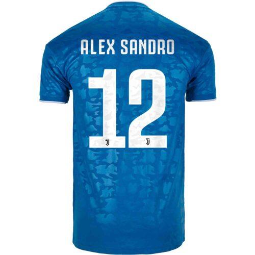 2019/20 adidas Alex Sandro Juventus 3rd Jersey