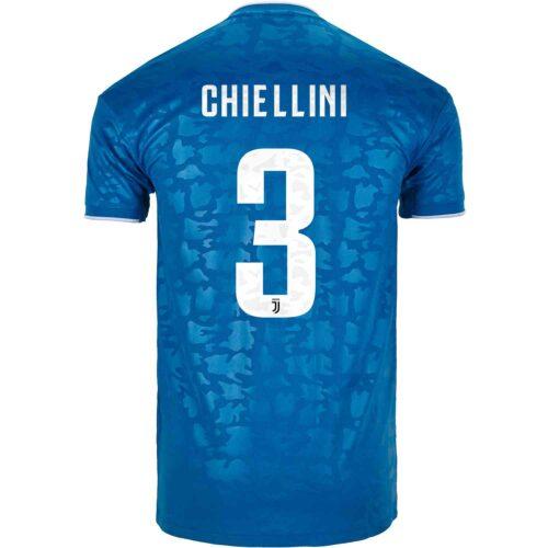 2019/20 Kids adidas Giorgio Chiellini Juventus 3rd Jersey