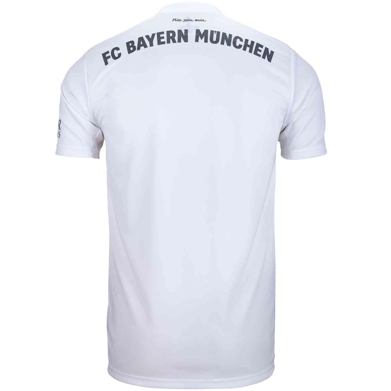 2019/20 adidas Bayern Munich Away Jersey - SoccerPro