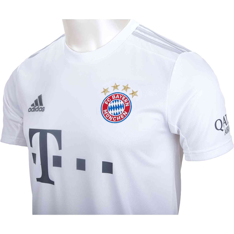 201920 adidas Bayern Munich Away Jersey SoccerPro
