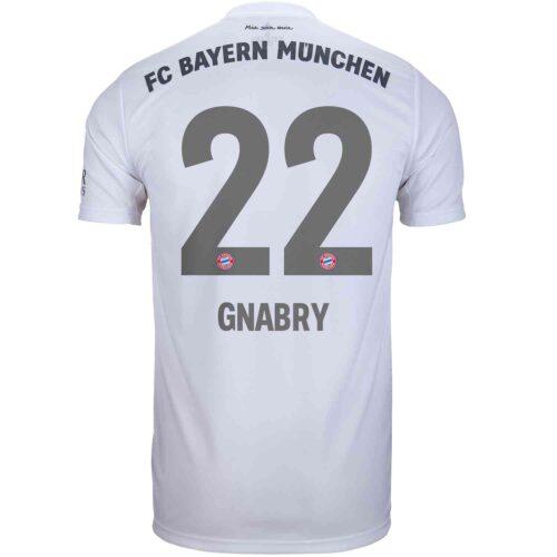 2019/20 adidas Serge Gnabry Bayern Munich Away Jersey