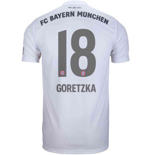 2019/20 adidas Leon Goretzka Bayern Munich Away Jersey
