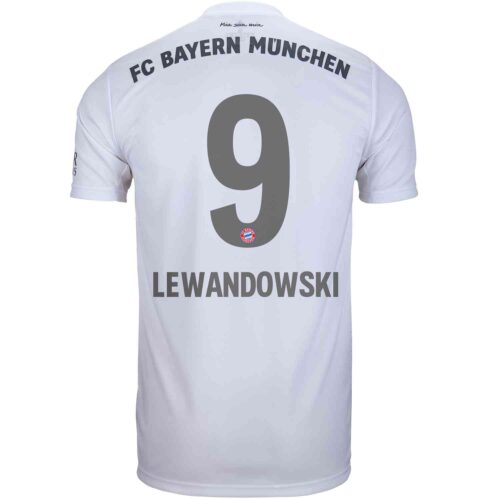2019/20 adidas Robert Lewandowski Bayern Munich Away Jersey