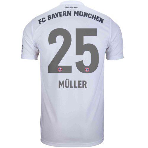 2019/20 adidas Thomas Muller Bayern Munich Away Jersey