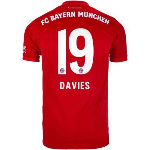 2019/20 adidas Alphonso Davies Bayern Munich Home Jersey