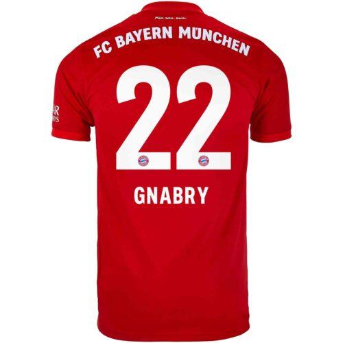 2019/20 adidas Serge Gnabry Bayern Munich Home Jersey
