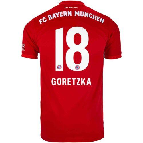 2019/20 adidas Leon Goretzka Bayern Munich Home Jersey