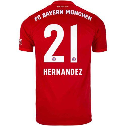 2019/20 adidas Lucas Hernandez Bayern Munich Home Jersey