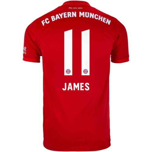 detailed look 5a816 75618 James Rodriguez Jersey - FC Bayern & Colombia - SoccerPro.com