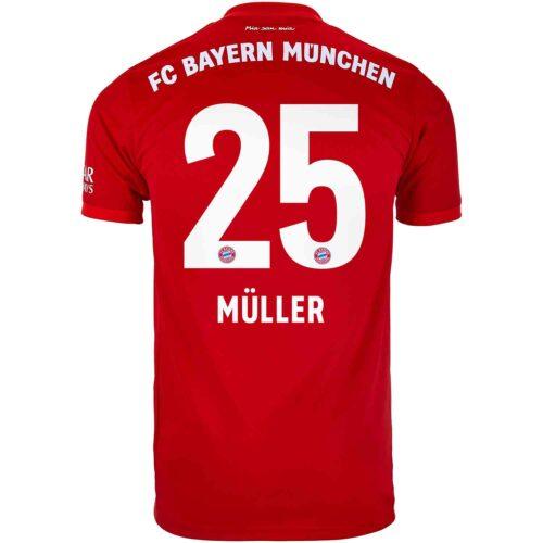 2019/20 adidas Thomas Muller Bayern Munich Home Jersey