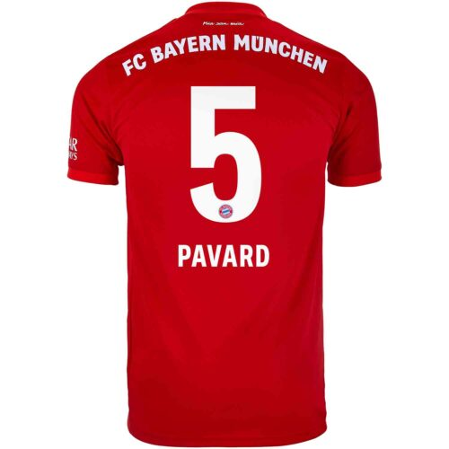 2019/20 adidas Benjamin Pavard Bayern Munich Home Jersey