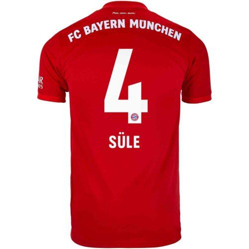 2019/20 adidas Niklas Sule Bayern Munich Home Jersey