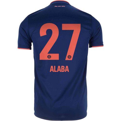2019/20 adidas David Alaba Bayern Munich 3rd Jersey