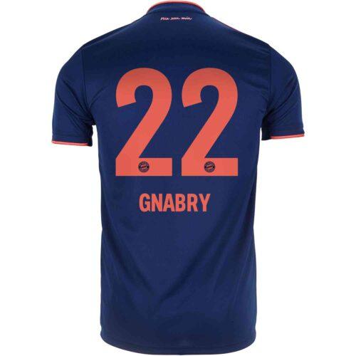 2019/20 adidas Serge Gnabry Bayern Munich 3rd Jersey